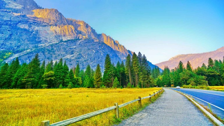Best Places To Visit In Yosemite National Park USA Zen Tripstar View from Yosemite Valley in Yosemite National Park Califonia